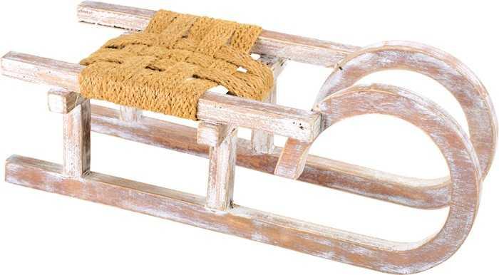 Dřevěné dekorace - Dekorační sáňky